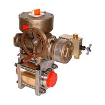 40000 Series - Military-Spec Direct/Differential Drive Handwheel Hydraulic Motor Quarter-Turn Actuator